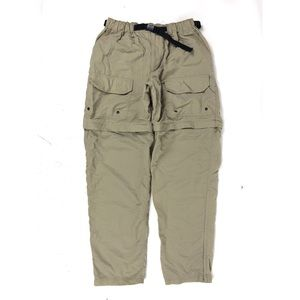 REI Mens Light Weight Tan Hiking Pants Nylon